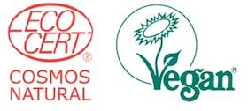 Ecocert- Cosmos Natural - Vegan