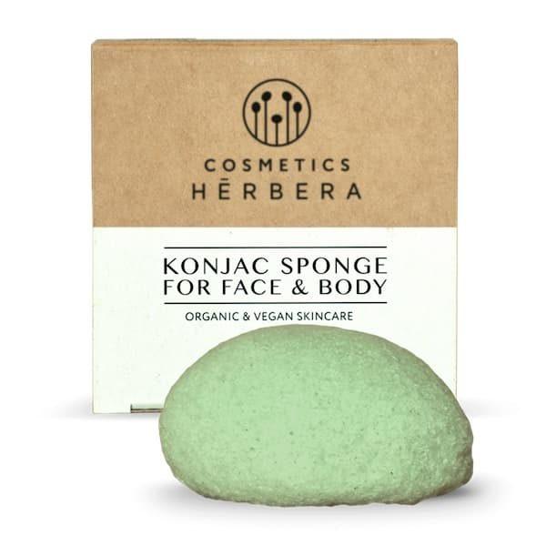 Eponge Konjac au Thé Vert