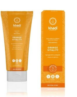 Shampoing Ayurvédique Orange Vitalité – KHADI
